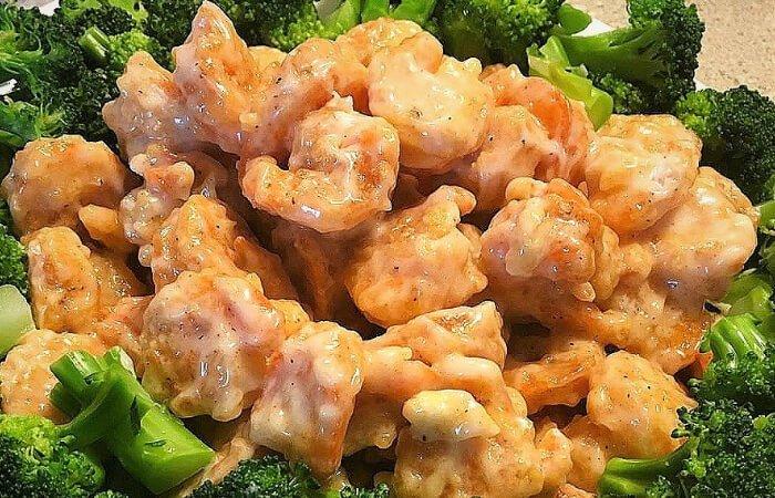 camarones enchipotlados con mantequilla