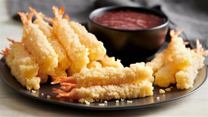camarones tempura