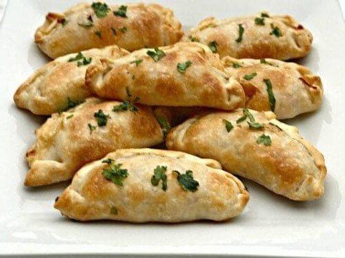 empanadas de camarón horneadas
